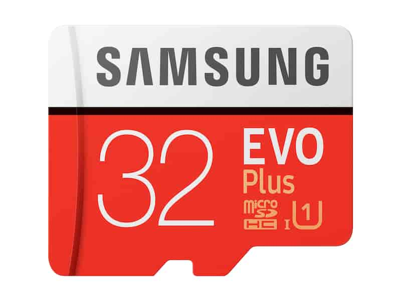 MicroSDHC EVO Plus Memory Card w/Adapter 32GB
