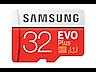 Thumbnail image of MicroSDHC EVO Plus Memory Card w/Adapter 32GB