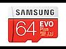 Thumbnail image of EVO Plus microSD Memory Card 64GB