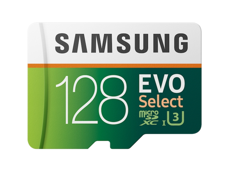 128gb Sd Karte.Microsdxc Evo Select Memory Card W Adapter 128gb