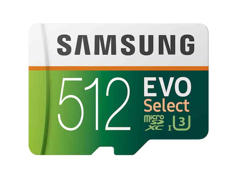 EVO Select microSDXC Memory Card 512GB