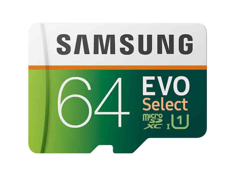 EVO Select microSDXC Memory Card 64GB