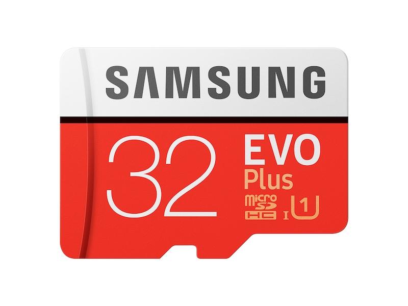 MicroSDHC EVO Plus Memory Card w/ Adapter 32GB (2017 Model) Memory & Storage - MB-MC32GA/AM | Samsung US