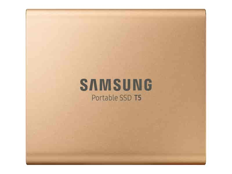 Portable SSD T5 500GB (GOLD)