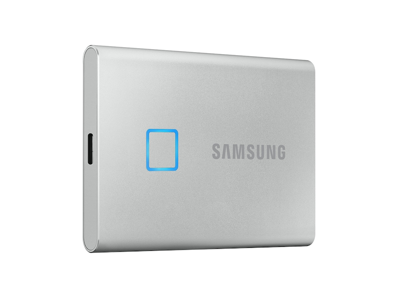 Portable SSD T7 TOUCH USB 3.2 500GB (Silver)