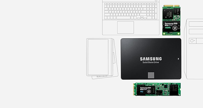 SSD 850 EVO 2 5