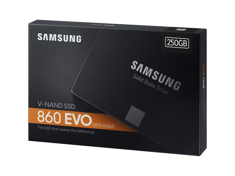 نتيجة بحث الصور عن Samsung 860 EVO 250GB