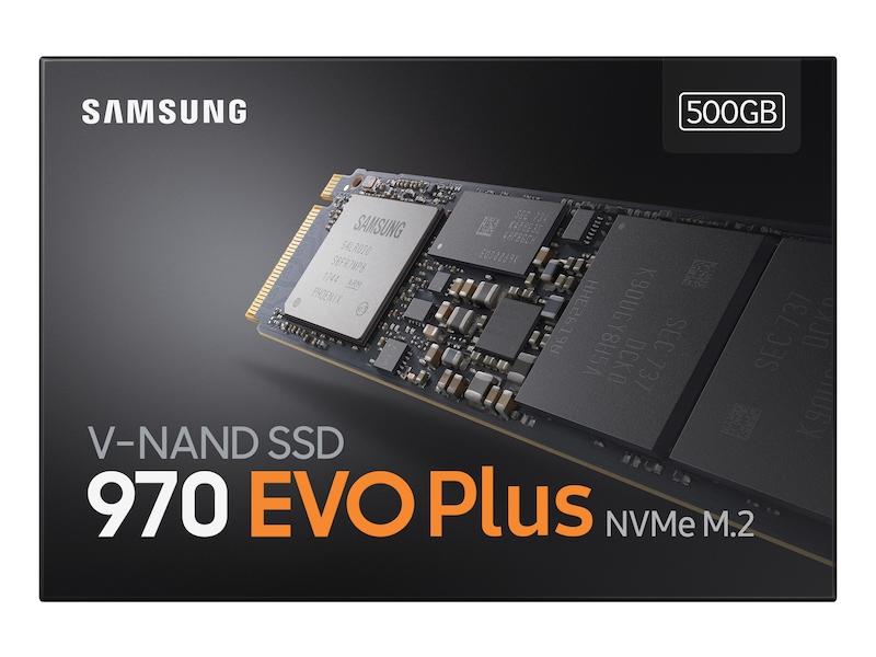 SAMSUNG 970 Evo Plus 500GB SSD M.2 PCIE 3500/3300 MZ-V7S500BW
