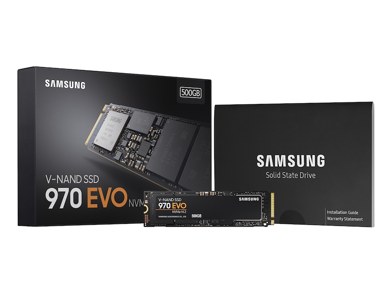 SSD 970 EVO NVMe M.2 500GB