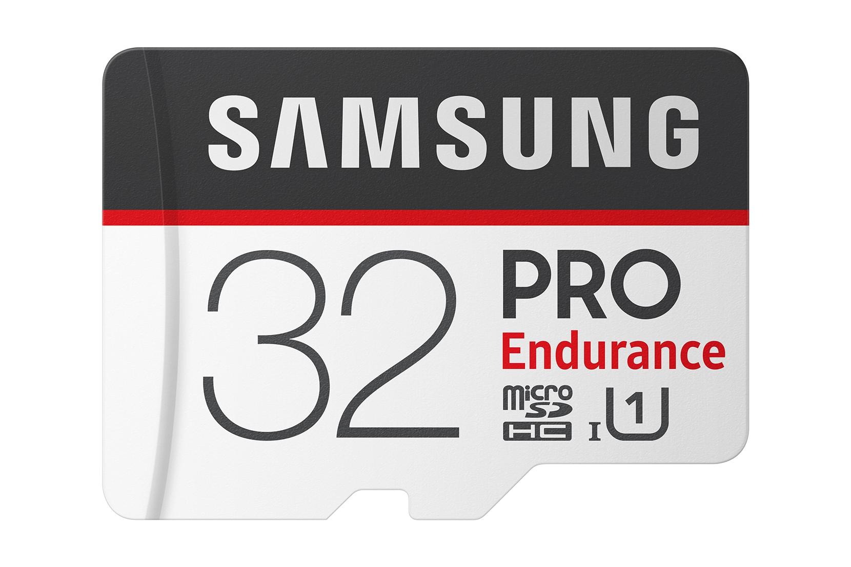 MicroSDHC PRO Endurance Memory Card w/ Adapter 32GB