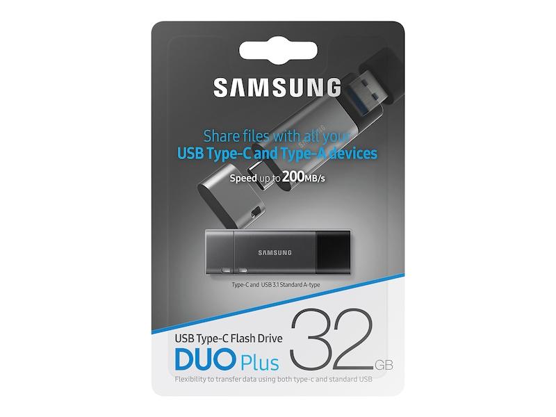 50cb4135905 USB 3.1 Flash Drive DUO Plus 32GB Memory & Storage - MUF-32DB/AM | Samsung  US