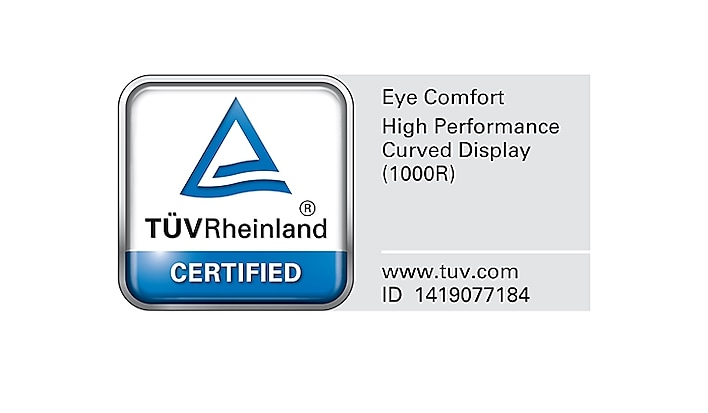 1000R and eye comfort certification