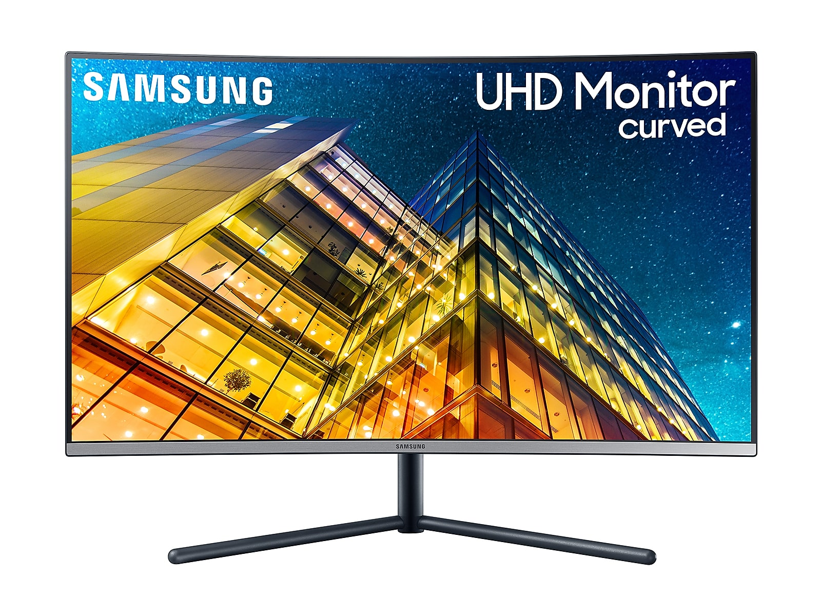 "Samsung 32"" UR59C Curved 4K UHD Monitor in Dark Blue Grey(LU32R590CWNXZA)"