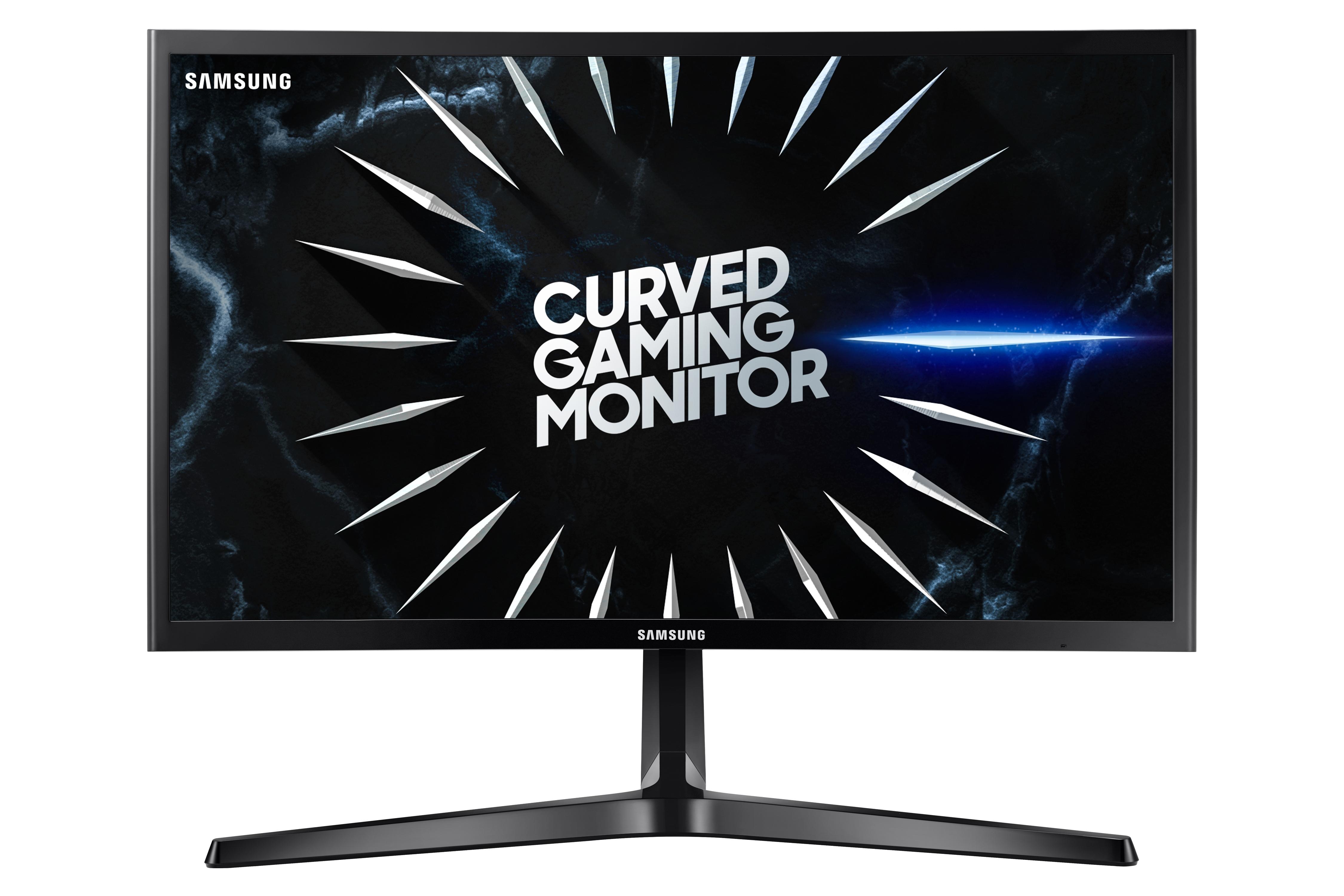 """Samsung 24"""" CRG5 Curved Gaming Monitor, Black"""