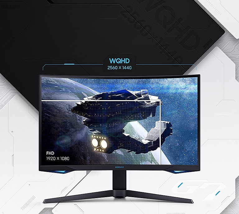 SAMSUNG Odyssey Series 32-Inch WQHD (2560x1440) Gaming LC32G75TQSNXZA