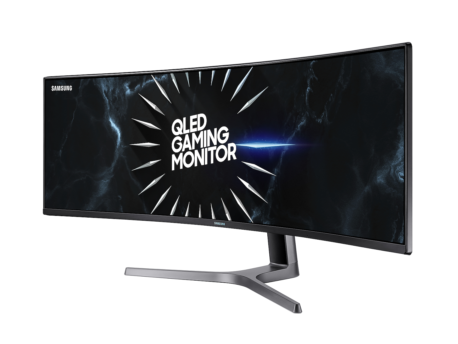"Samsung 49"" CRG9 Dual QHD Curved QLED Gaming Monitor in Dark Blue Grey(LC49RG90SSNXZA)"
