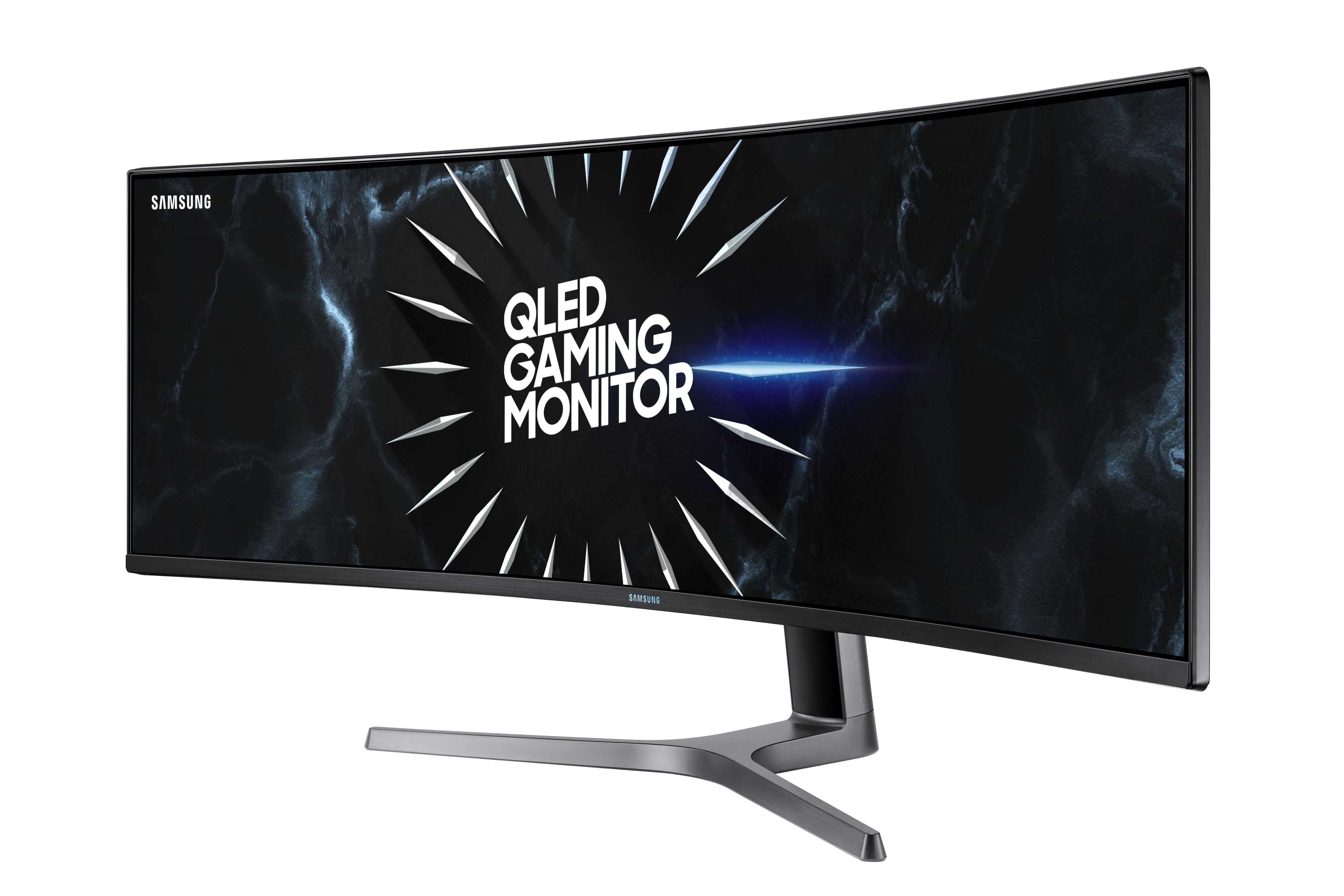 49 inch CRG9 Dual QHD Curved QLED Gaming Monitor Monitors