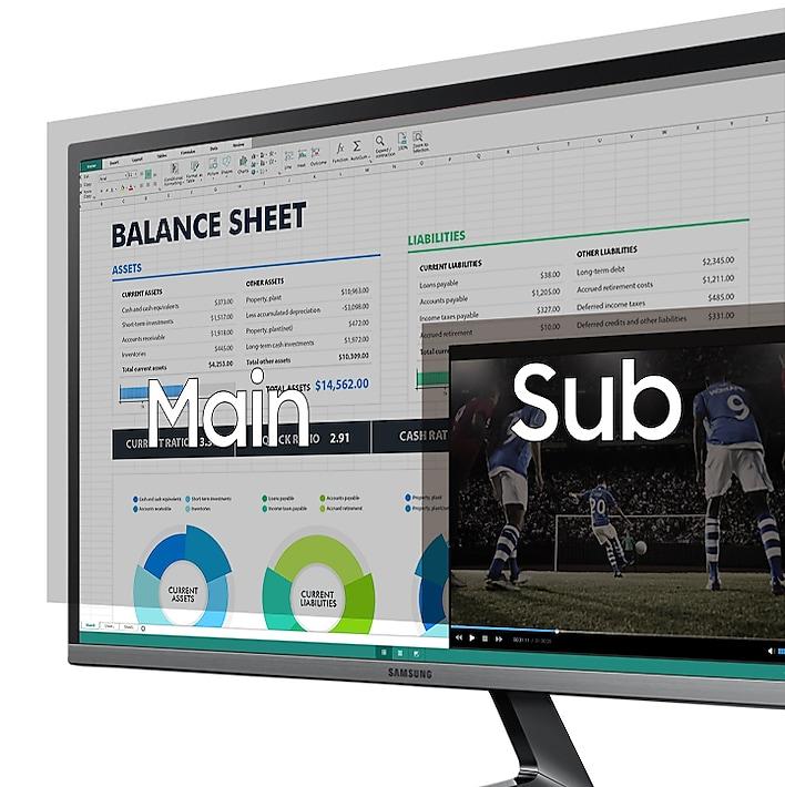 PBP Dual-Screen Function