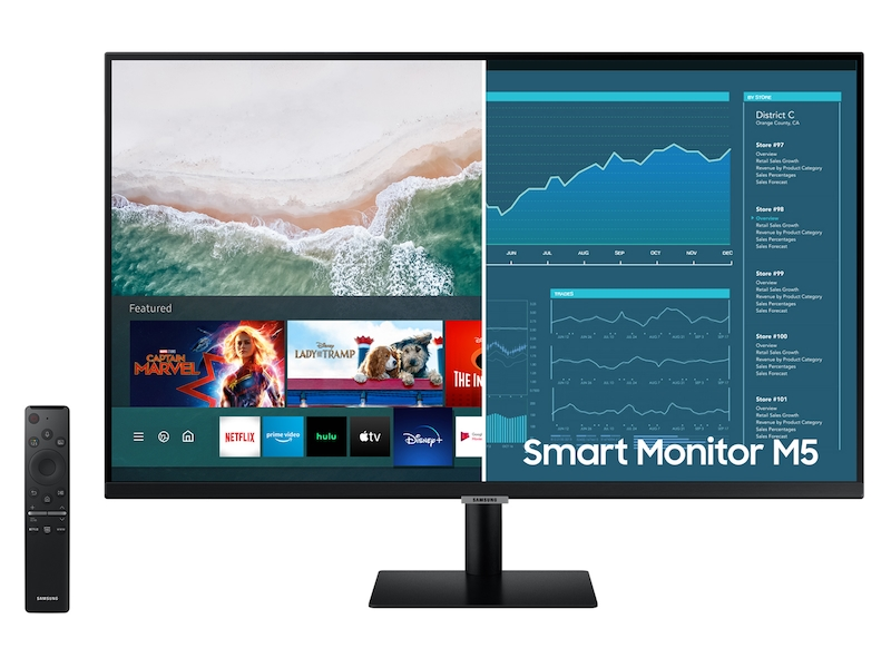 32? M5 FHD Smart Monitor with Streaming TV
