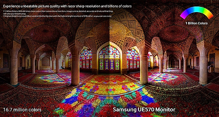 Experience More than 1 Billion Colors