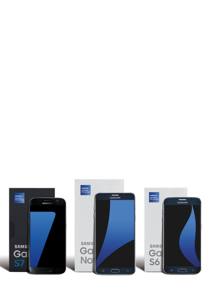 Buy Samsung Refurbished Cell Phones: Certified Pre-Owned