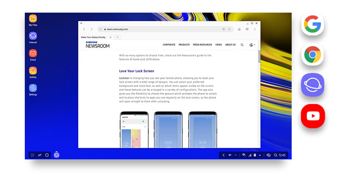 DeX Mode   Device Multitasking   Samsung US