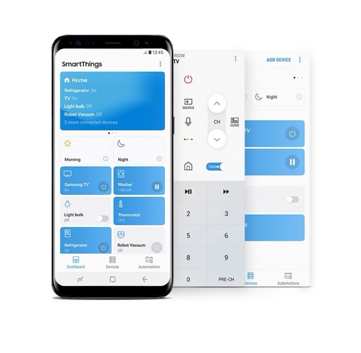 Samsung Smart TV Controls - Connect and control simply
