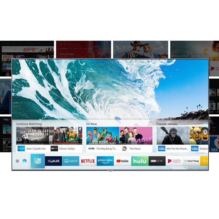 Samsung Smart TV Entertainment – all your content is here