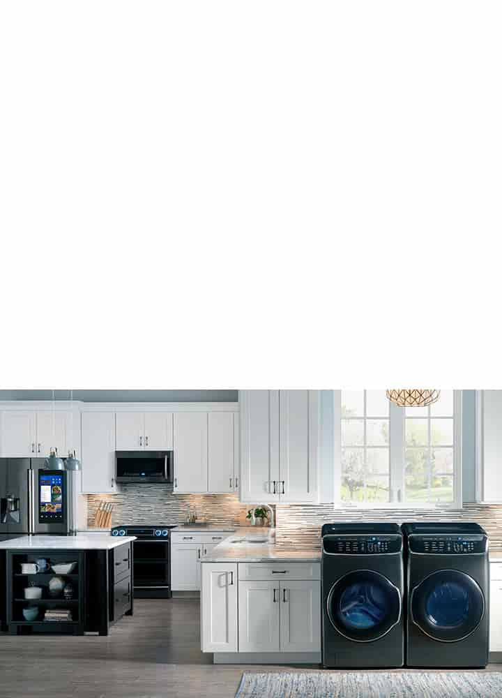 Find your Samsung appliance.