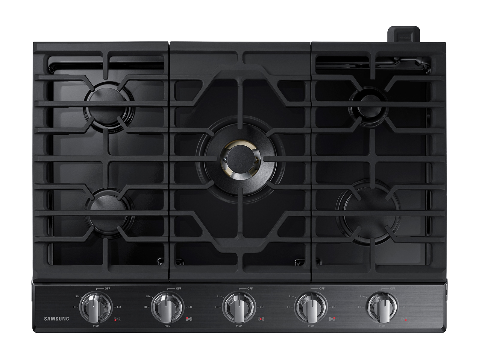30 Gas Cooktop With 22k Btu True Dual Burner 2018 Cooktops And Hoods Na30n7755tg Aa Samsung Us