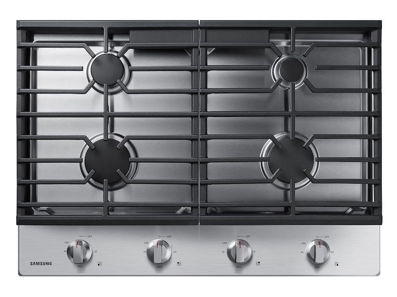 30 Inch Gas Cooktop In Stainless Steel Cooktop Na30r5310fs Aa Samsung Us