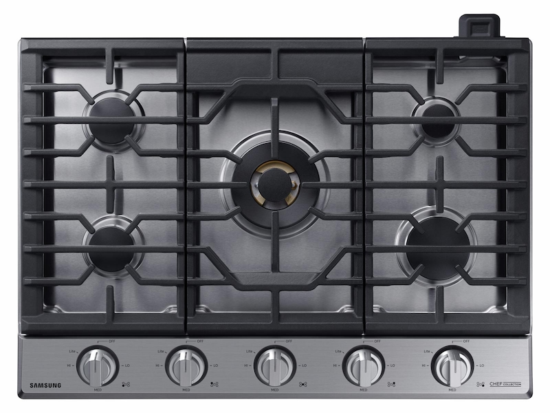 36 Gas Chef Collection Cooktop With 22k Btu Dual Power Burner 2018