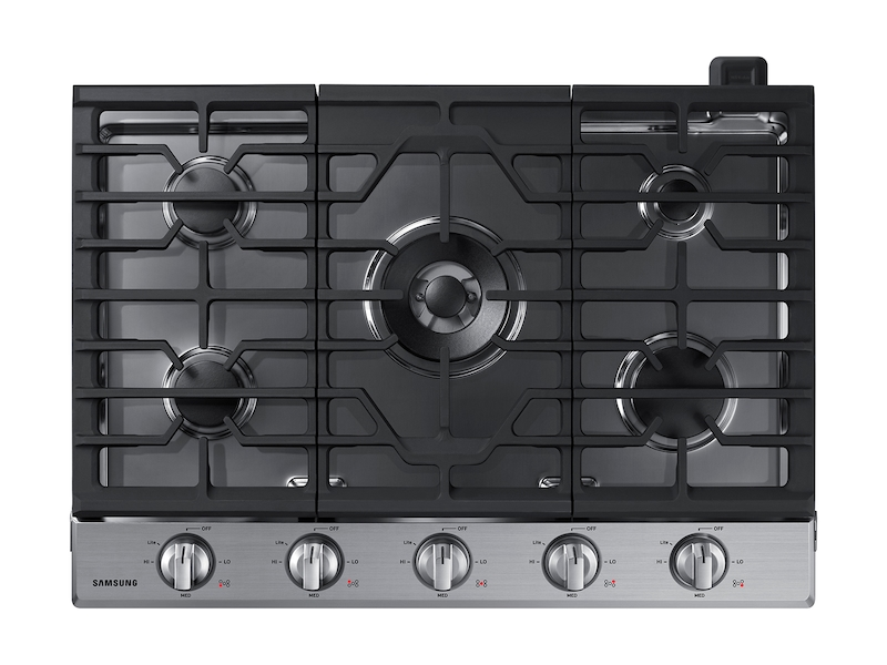 30 Inch Gas Cooktop In Stainless Steel