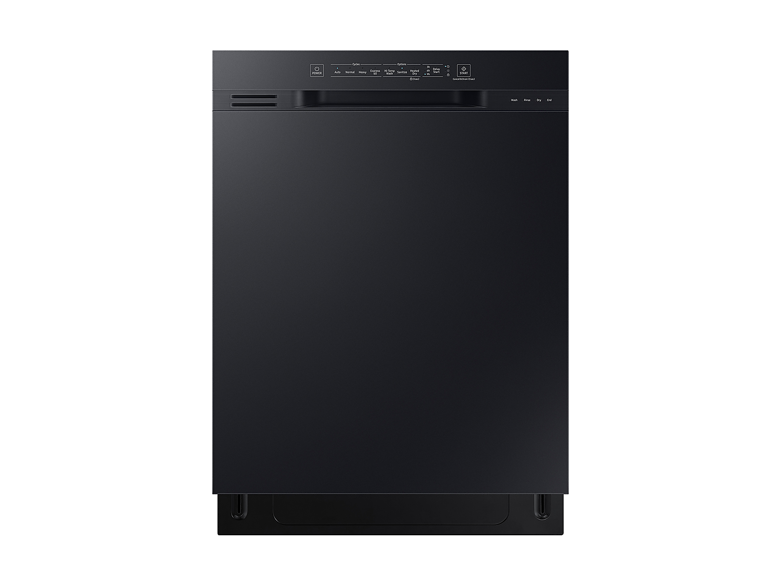 Samsung coupon: Samsung Front Control 51 dBA Dishwasher with Hybrid Interior in Black(DW80N3030UB/AA)