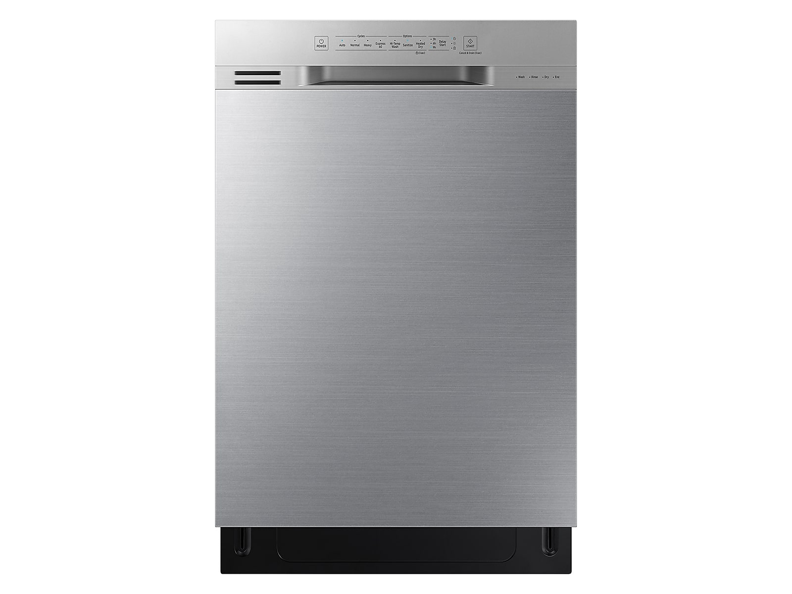 Samsung coupon: Samsung Front Control 51 dBA Dishwasher with Hybrid Interior in Stainless Steel(DW80N3030US/AA)