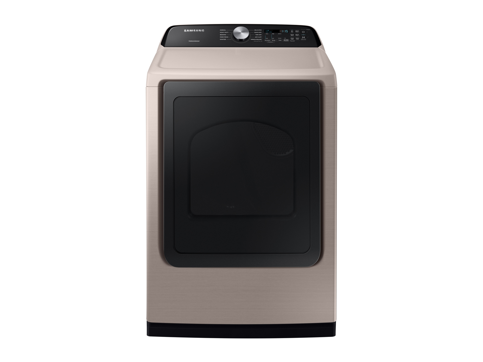 Samsung 7.4 cu. ft. Electric Dryer with Sensor Dry in Champagne