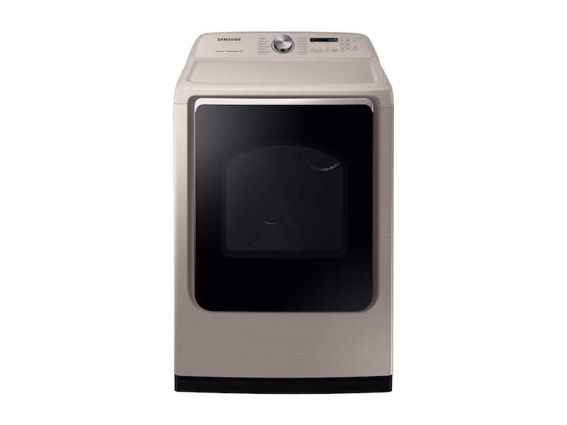 DV7600 7 4 cu  ft  Electric Dryer with Steam Sanitize+ in Champagne