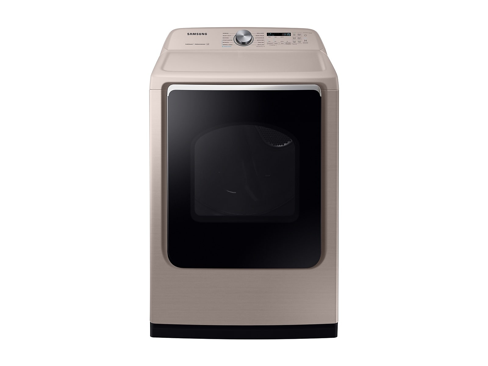 Samsung coupon: Samsung 7.4 cu. ft. Electric Dryer with Steam Sanitize+ in Champagne(DVE54R7600C/A3)