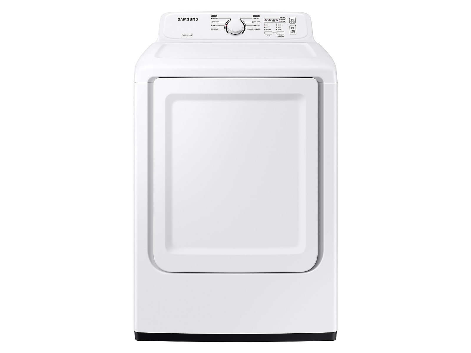 Samsung coupon: Samsung 7.2 cu. ft. Electric Dryer with Sensor Dry and 8 Drying Cycles in White(DVE41A3000W/A3)