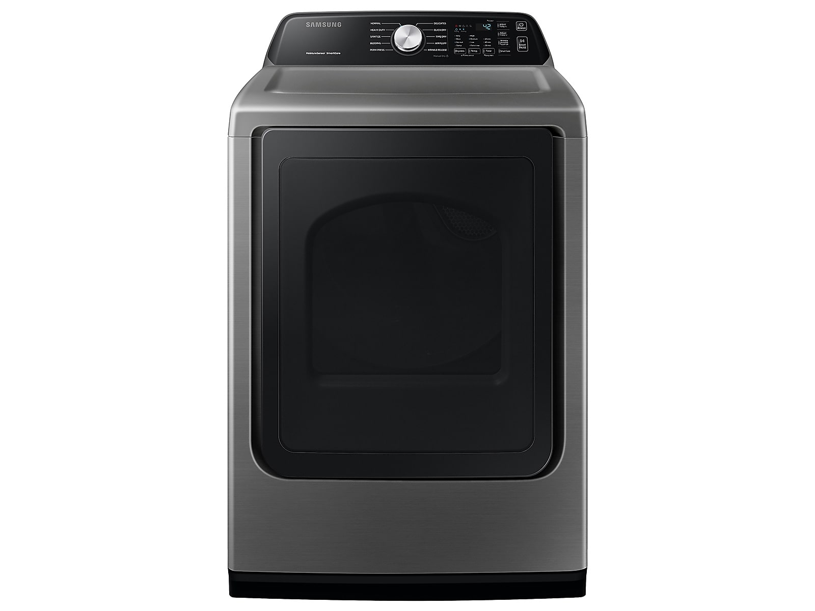 Samsung coupon: Samsung 7.4 cu. ft. Gas Dryer with Sensor Dry in Platinum(DVG45T3400P/A3)