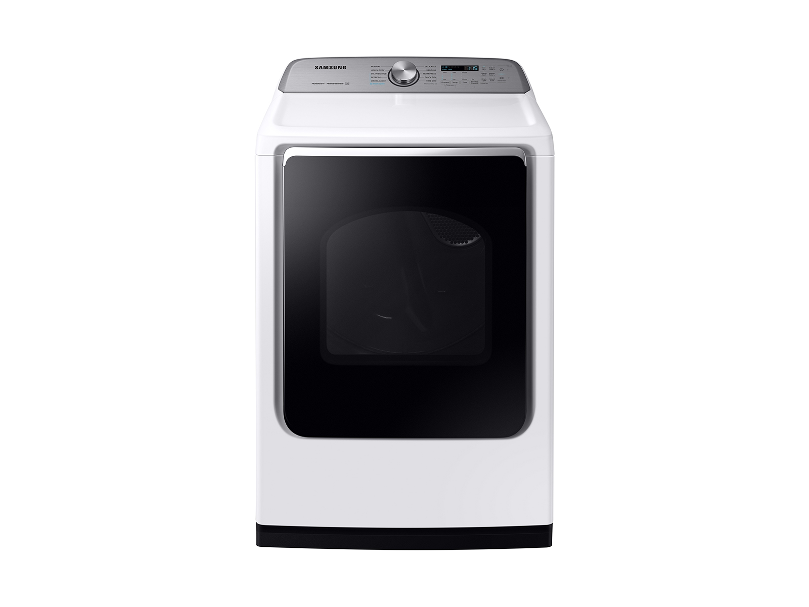 Samsung 7.4 cu. ft. Electric Dryer with Steam Sanitize+ in White