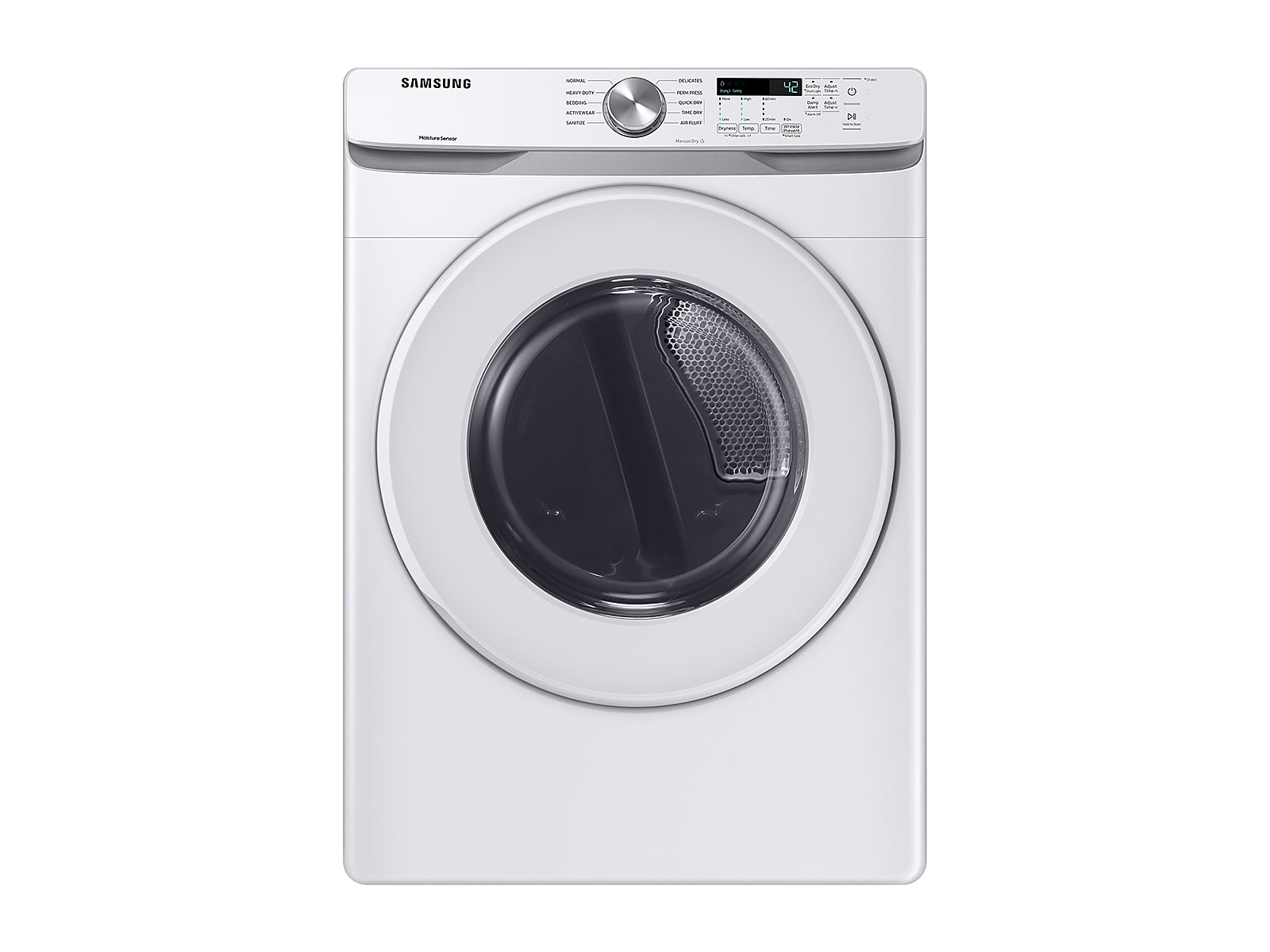 Samsung coupon: Samsung 7.5 cu. ft. Electric Dryer with Sensor Dry in White (DVE45T6000W/A3)