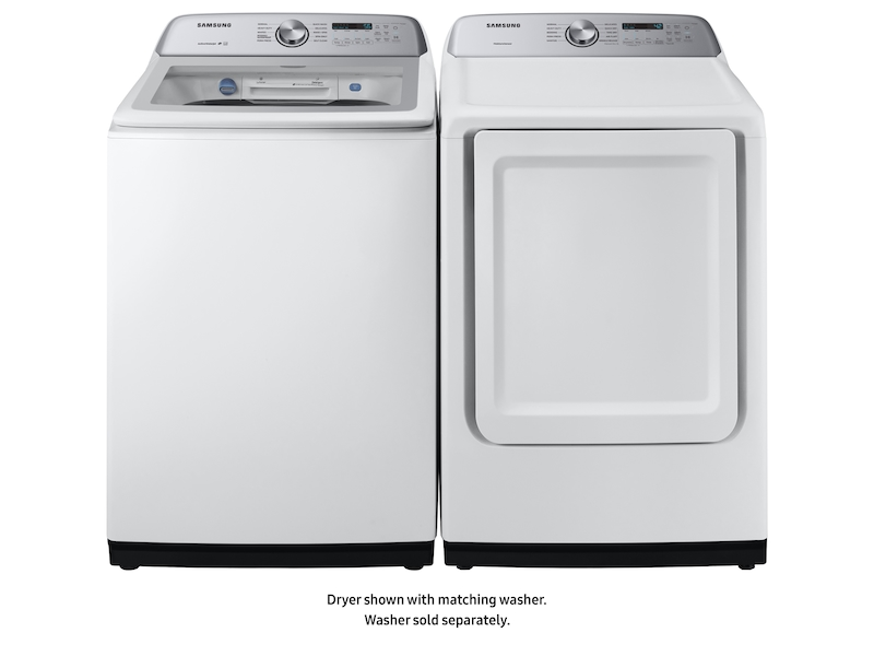 7 4 Cu Ft Gas Dryer With Sensor Dry In White Dryer Dvg50r5200w