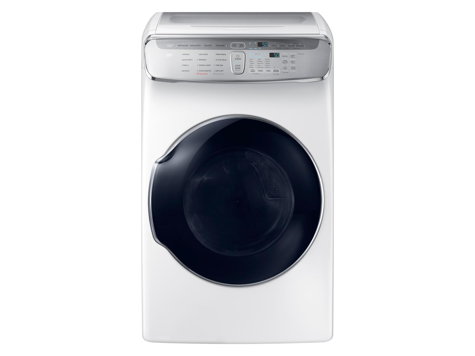 Samsung 7.5 cu. ft. FlexDry Electric Dryer in White