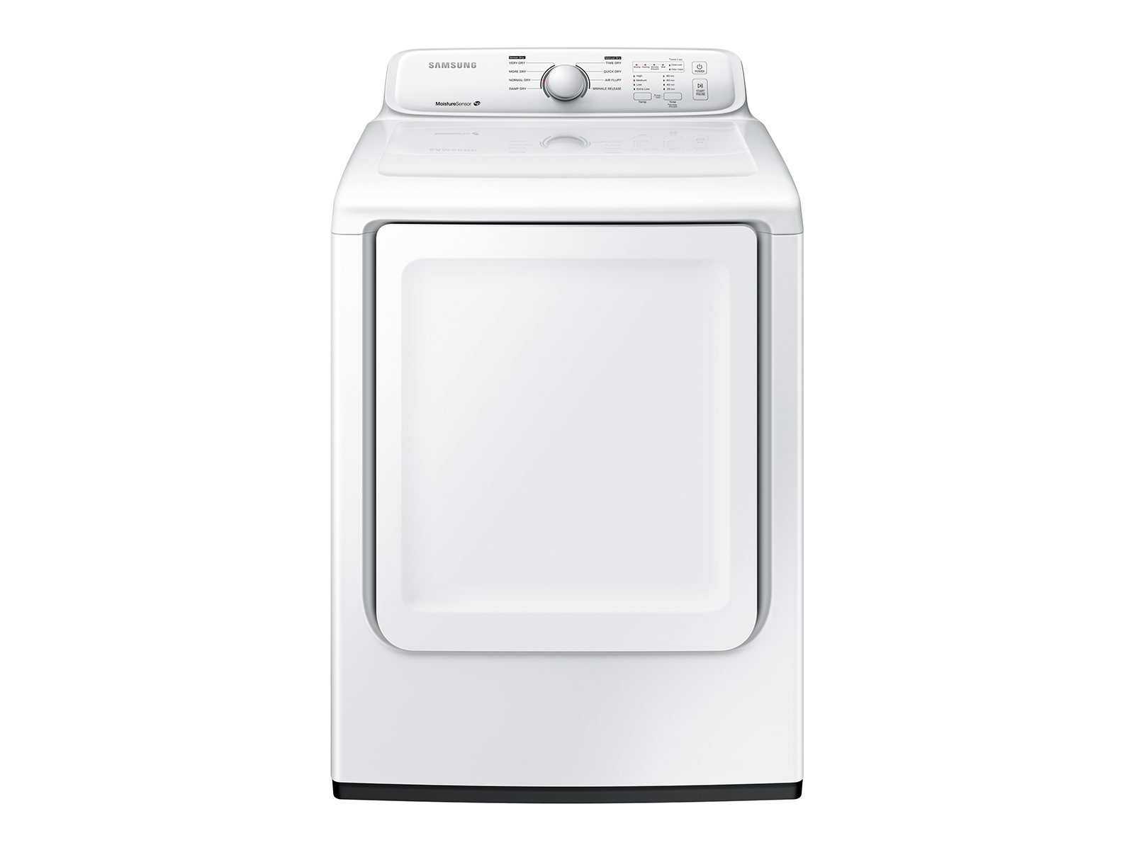 Samsung 7.2 cu. ft. Electric Dryer with Moisture Sensor in White