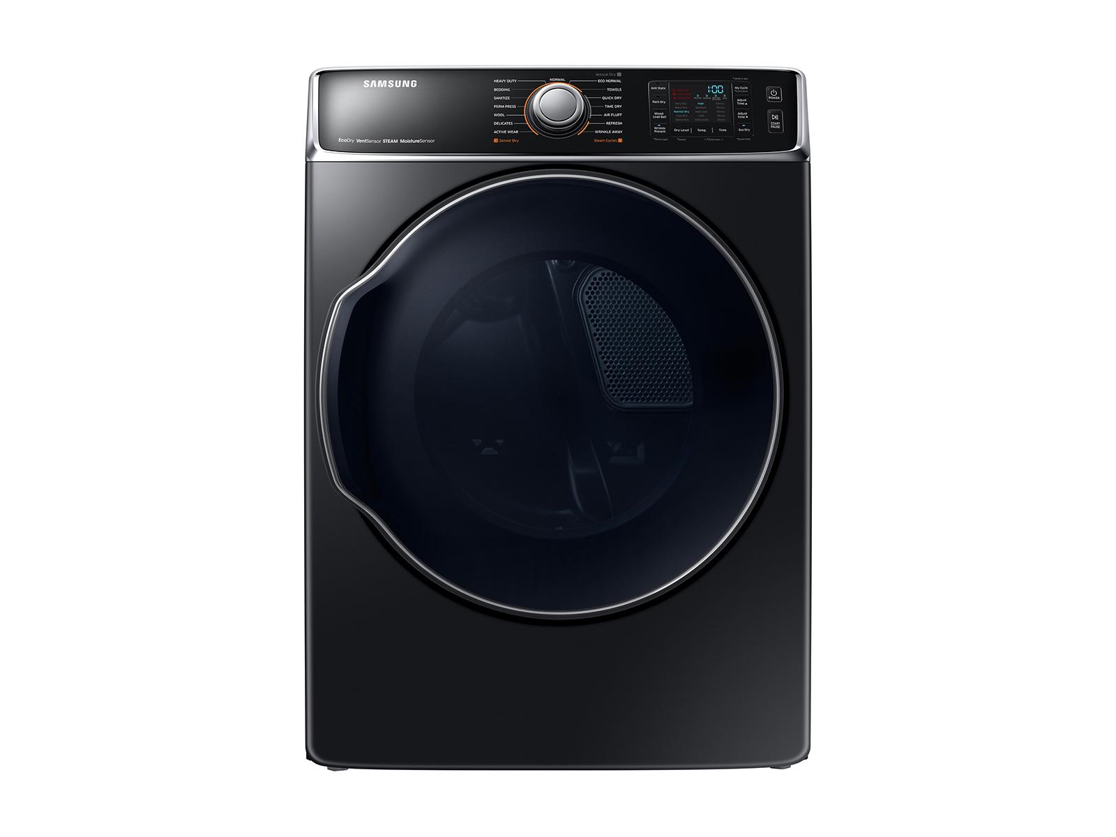Samsung 9.5 cu. ft. Electric Dryer in Black Stainless Steel , Fingerprint Resistant Black Stainless Steel