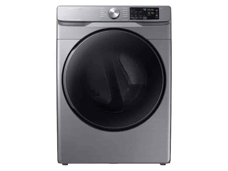 7.5 cu. ft. Electric Dryer with Steam Sanitize+ in Platinum