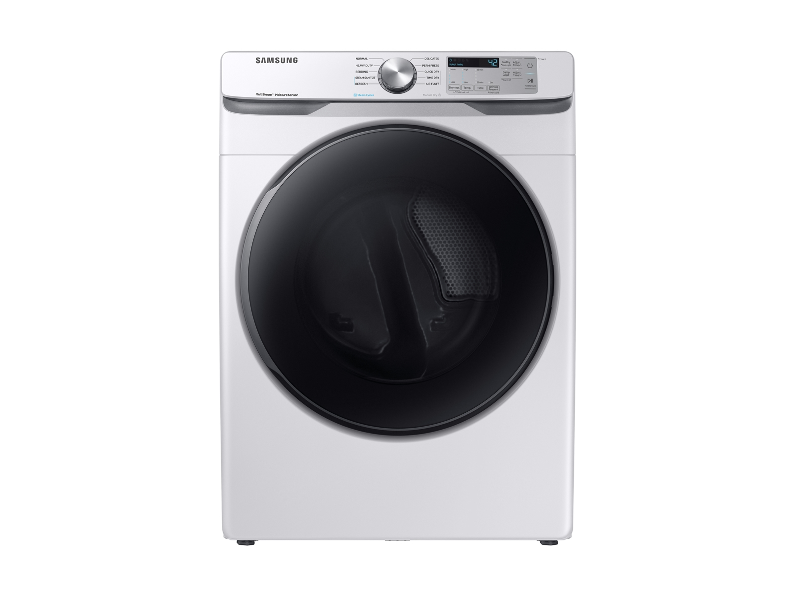 Samsung 7.5 cu. ft. Electric Dryer with Steam Sanitize+ in White
