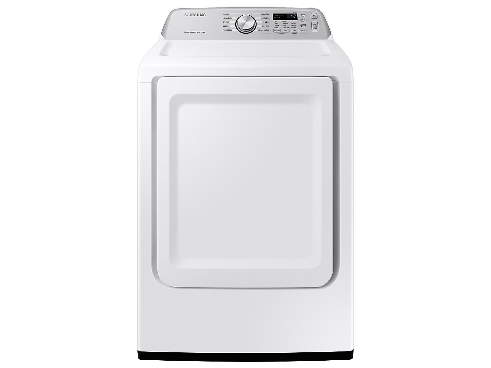Samsung coupon: Samsung 7.4 cu. ft. Electric Dryer with Sensor Dry in White(DVE45T3400W/A3)