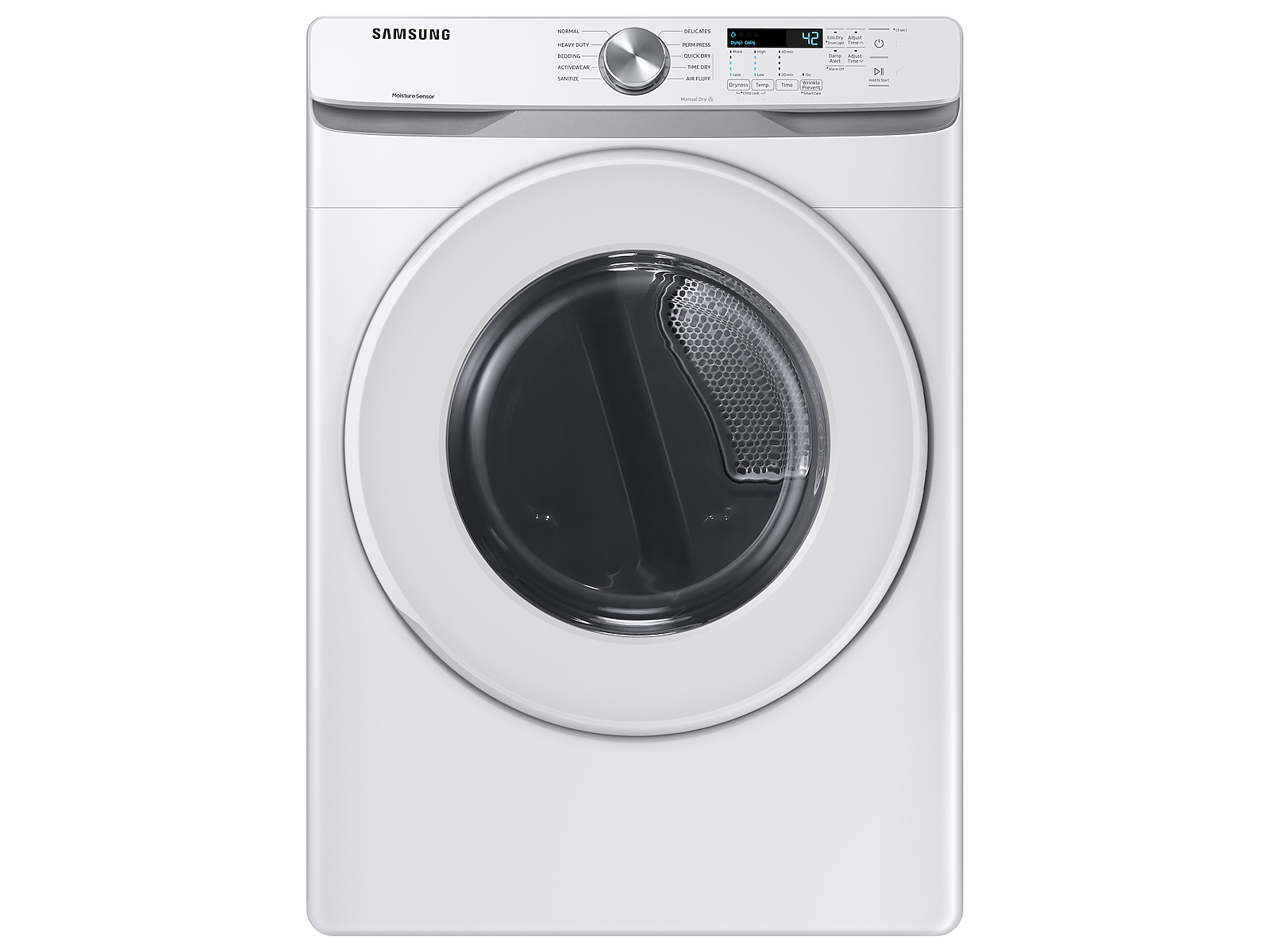 Samsung coupon: Samsung 7.5 cu. ft. Gas Long Vent Dryer with Sensor Dry in White (DVG45T6020W/A3)